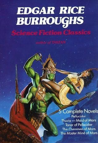 book cover of Science Fiction Classics