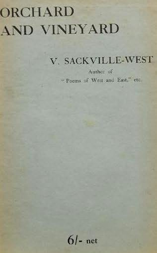 book cover of Orchard and Vineyard