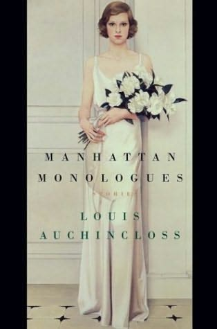 book cover of Manhattan Monologues