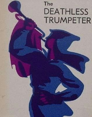book cover of The Deathless Trumpeter