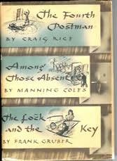 book cover of Fourth Postman / Among Those Absent / Lock and the Key