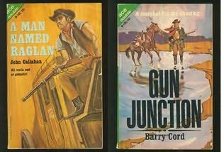 book cover of Man Named Raglan / Gun Junction