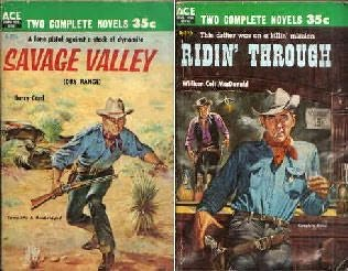 book cover of Savage Valley / Ridin\' Through