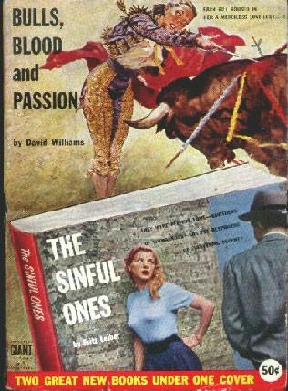 book cover of Bulls, Blood and Passion / Sinful Ones