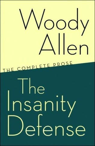 book cover of The Insanity Defense
