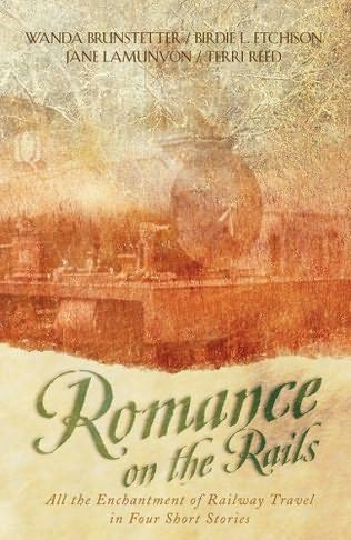 book cover of Romance on the Rails
