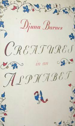 book cover of Creatures in an Alphabet