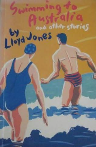 book cover of Swimming to Australia