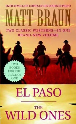 book cover of El Paso / Wild Ones