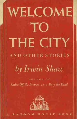 book cover of Welcome to the City