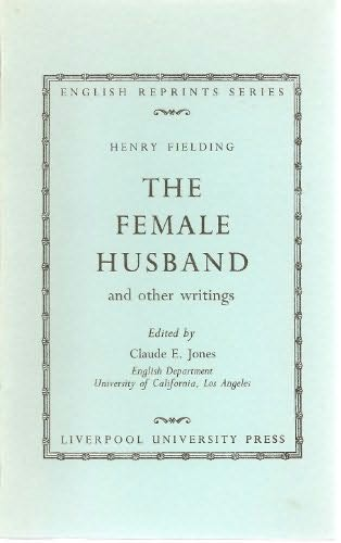 book cover of The Female Husband