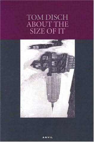 book cover of About the Size of It