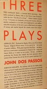 book cover of Three Plays