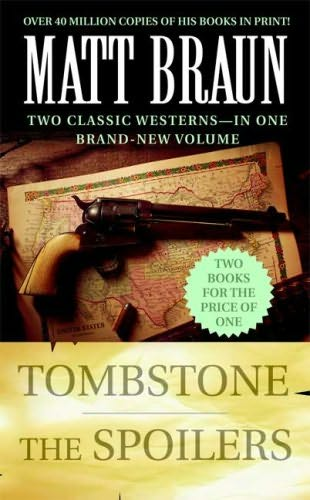 book cover of Tombstone / Spoilers