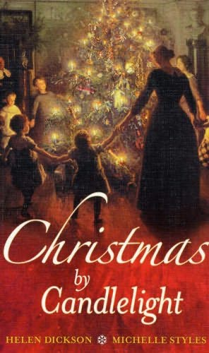 book cover of Christmas by Candlelight