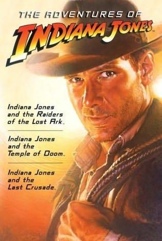 book cover of The Adventures of Indiana Jones