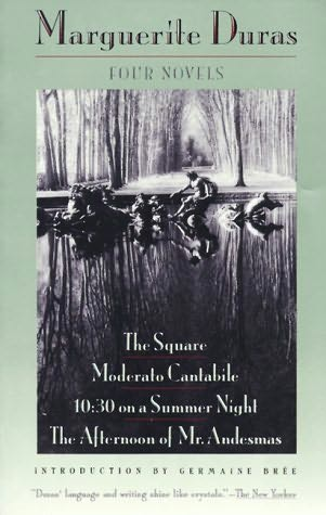 book cover of The Square / Moderato Cantabile / 10:30 on a Summer Night