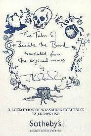 book cover of The Tales of Beedle the Bard