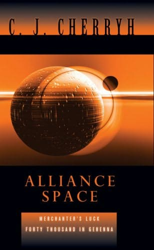 book cover of Alliance Space