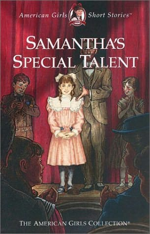 book cover of Samantha\'s Special Talent