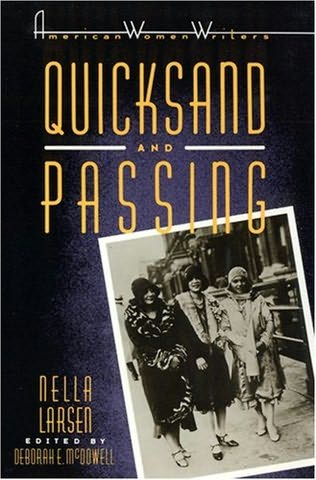 book cover of Quicksand / Passing by Nella Larsen