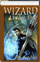 book cover of Wizard Under Fire