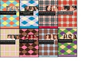 book cover of The Clique 8-Book Set
