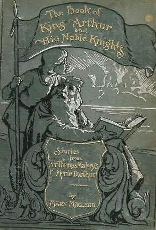 book cover of The Book of King Arthur and His Knights