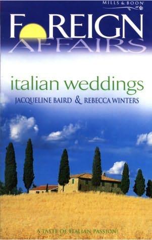 book cover of Italian Weddings
