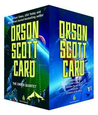 book cover of The Ender Quartet Box Set