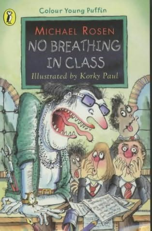 book cover of No Breathing in Class