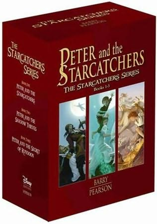 book cover of Peter and the Starcatchers Box Set