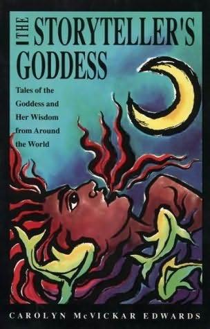 book cover of The Storyteller\'s Goddess