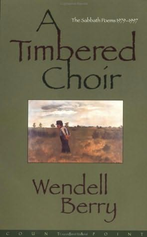 book cover of A Timbered Choir