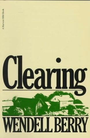 book cover of Clearing