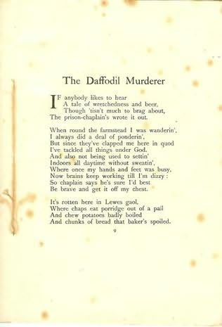book cover of The Daffodil Murderer