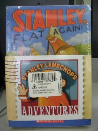 book cover of Stanley Lambchop\'s Adventures