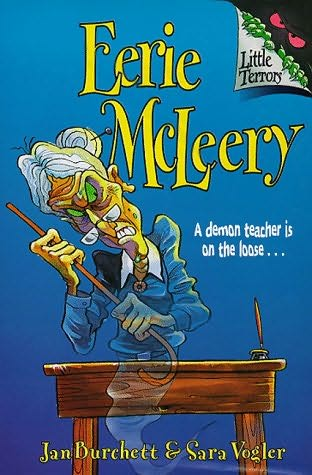 book cover of Eerie Mcleery