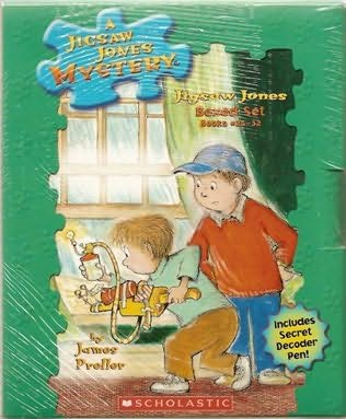 book cover of A Jigsaw Jones Mystery Boxed Set, Books 25-32