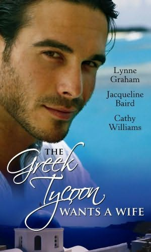 book cover of The Greek Tycoon Wants a Wife