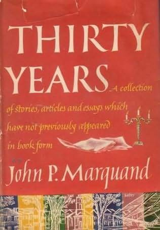 book cover of Thirty Years