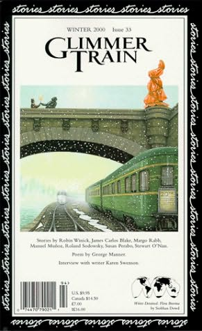 book cover of Glimmer Train Stories, issue 33