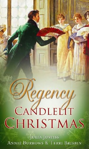 book cover of Regency Candlelit Christmas