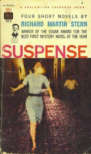 book cover of Suspense