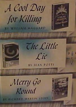 book cover of A Cool Day for Killing / The Little Lie /  Merry Go Round