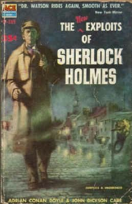 book cover of More Exploits Of Sherlock Holmes