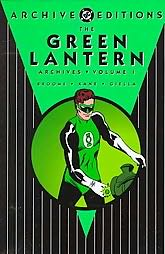 book cover of Green Lantern Archives Volume 1