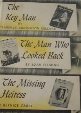 book cover of Key Man / Man Who Looked Back / Missing Heiress