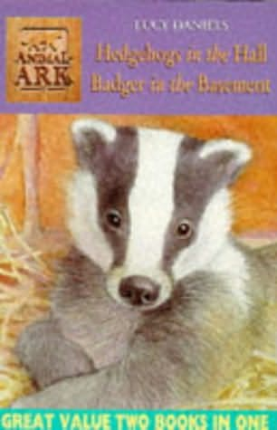 book cover of Hedgehogs in the Hall / Badger in the Basement