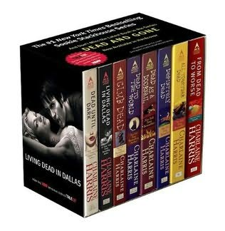 book cover of Sookie Stackhouse 8-copy Boxed Set